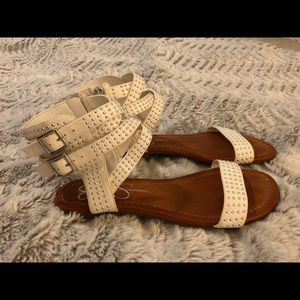 Jessica Simpson Shoes - Jessica Simpson Sandals - White